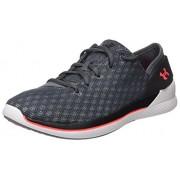Under Armour Women's Rotation Training Shoes, Rhino Gray/Black, 7.5 B(M) US
