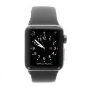 Apple Watch Series 2 carcasa de aluminiogris oscuro 38mm con con correa