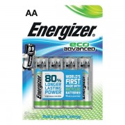 Batterie eco Advanced Energizer - AA - E300130700 (conf.4) - 383218 - Energizer