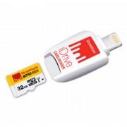 estroncio Nitro 466x SRN32GTFU 1D 32GB MicroSD + iluminacion de manzana iDrive
