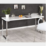 Birou White Desk 160cm alb