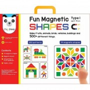 Fun Magnetic Shapes (Junior) Type 1 with 44 Magnetic Shapes