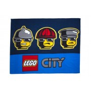 Linen Ideas Ltd Lego City Heroes Fleece Blanket