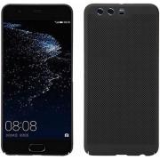 Protectie spate Senno Rock Slim Air Plastic pentru Huawei P10 Plus (Negru)