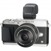 "Olympus PEN E-P5 16.1 Megapixel Mirrorless Camera (Body With Lens Kit) - 17 Mm - Silver - 3"" Touchscreen LCD - Electronic, Optical (IS) - 4608 X 3456 Image - 1920 X 1080 Video - HDMI - PictBridge - HD Movie Mode - V204053SU000"