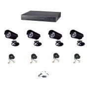 IP-S4048 - система за видеонаблюдение от 4 камери - за апартамент, офис, магазин, склад, къща и вила