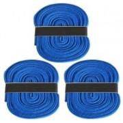 Fashion Gateway 36 Inch Sports Shoe Cotton SL10 Shoe Lace(Blue Set of 3)