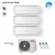 Ariston Climatizzatore Condizionatore Ariston Trial Split Inverter Alys Plus 9000+9000+12000 Btu Con Trial 80 Xd0b-O 9+9+12