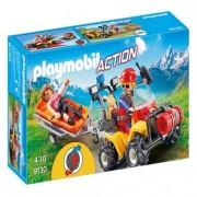 Playmobil Quad de rescate de montana