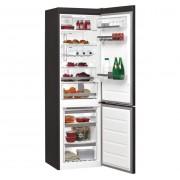 Combina frigorifica Whirlpool BSNF 8999 PB, No Frost, 299 L, 6TH Sense FreshControl, Compartiment Activ0°, Racire rapida, Congelare rapida, A+++, Negru
