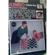 Jumbo Checker Rug With Jumbo Checkers