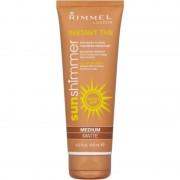Rimmel Sunshimmer Instant Tan Medium Matte 125 ml Self Tanning Gel