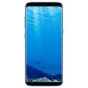 "Telefon Mobil Samsung Galaxy S8 G950, Procesor Octa-Core 2.3GHz / 1.7GHz, Super AMOLED Capacitive touchscreen 5.8"", 4GB RAM, 64GB Flash, 12MP, 4G, Wi-Fi, Dual Sim, Android (Albastru) + Cartela SIM Orange PrePay, 6 euro credit, 4 GB internet 4G, 2,000 minu"