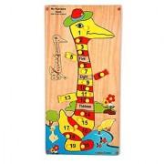 Skillofun My Number Puzzle - Duck