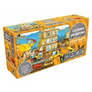 Puzzle gigant - La joaca pe santier, 30 piese