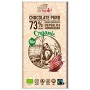 Ciocolata Bio Neagra cu 73% Cacao Pronat 100gr
