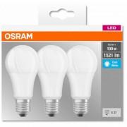 Set 3 becuri Led Osram, E27, 14W, 1521 lumeni, lumina neutra(4000K) 00000405807581955