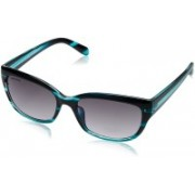 Fastrack Oval Sunglasses(Black)