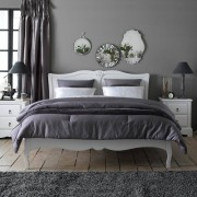 LA REDOUTE INTERIEURS Doppelbett mit Kopfteil Lison