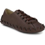 Style Shoe Decent Look Drivings Driving Shoes For Men(Brown)