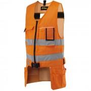 Snickers 4233 Varselverktygsväst orange Strl XS