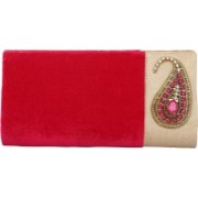 Kleio Casual Pink Clutch