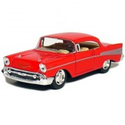 5 1957 Chevy Bel Air Coupe 1:40 Scale (Red)