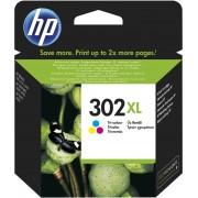 Cartridge HP No.302XL F6U67AE tri-color, DJ 1110/2130/3630/4520/OJ 3830, 330str.