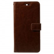 Nokia 5 Classic Wallet Case - Brown
