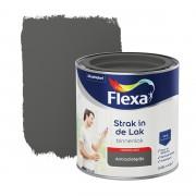 Flexa Strak in de lak voor binnen antraciet grijs hoogglans 250 ml