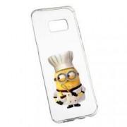 Husa de protectie Minion Chef Samsung Galaxy S8 Plus rez. la uzura anti-alunecare Silicon 215