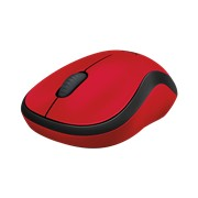 Logitech M220 Silent Optical Mouse - Red, 1 x AA