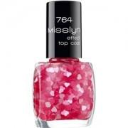 Misslyn Nails Nail polish Effect Top Coat No. 756 Mirror Ball 10 ml