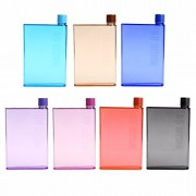 Inovera A5 Size Memo Bottle Notebook Style Flat And Ultra Slim Portable Bottle (Multi)