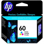 Cartucho HP 60 Tricolor 6,5ML - CC643WB