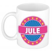 Shoppartners Voornaam Jule koffie/thee mok of beker Multi