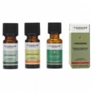 Uleiuri esentiale Antifungice 100 pure ulei de Menta Scortisoara Lemongrass Arbore de Ceai de la Tisserand Aromatherapy Set 4 buc
