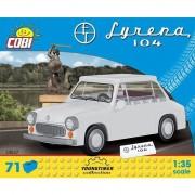 Set de constructie masina Syrenka 104 Cobi Klocki, 71 piese