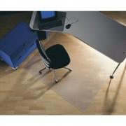 Rollsafe Bodenschutzmatte für glatte und harte Bodenbeläge 1800 x 1200 mm, transparent