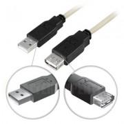 . USB 2.0 kabel Typ A ha - Typ A ho 3m