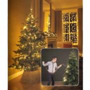 Novogodišnja LED rasveta za jelku 150cm-126L topla bela Lumineo 1-2 Glow 495465