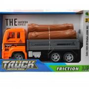 Juguete Camion Truck Leñador Friccion 23cm
