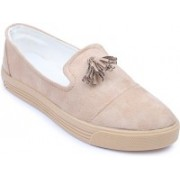 Amour World Amour World Cream Sneakers Casuals For Women(Beige)
