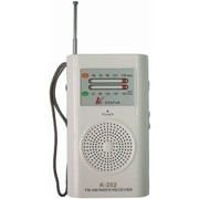 Rádió AM/FM hordozható elemes