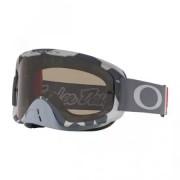 OAKLEY Masque Oakley O Frame 2.0 MX Troy Lee Designs Low Vis Gris
