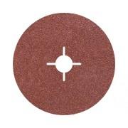 Discuri abrazive din fibra Wolfcraft Ø125mm, granulatie 100, 5 bucati