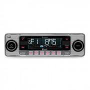 RMD-Sender-Two Autoradio Bluetooth USB SD MP3 CD Retro silber