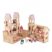 Casuta pentru papusi Princess Castle – KidKraft