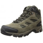 Hi-Tec Men s Logan WP Hiking Boot Smokey Brown / Olive / Snow 9 D(M) US