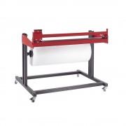 Untertisch-Schneidgerät HxT 800 x 800 mm Breite 1050 mm, Schnittbreite 800 mm